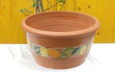 vaso frutta terracotta