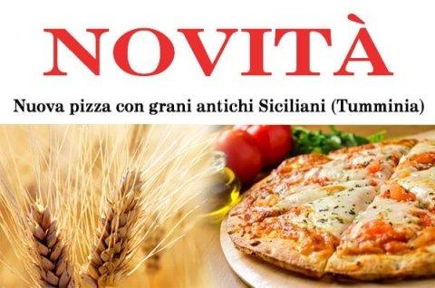pizza con grani antichi siciliani tumminia