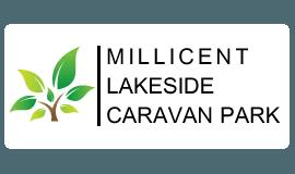 millicent lakeside caravan park business logo
