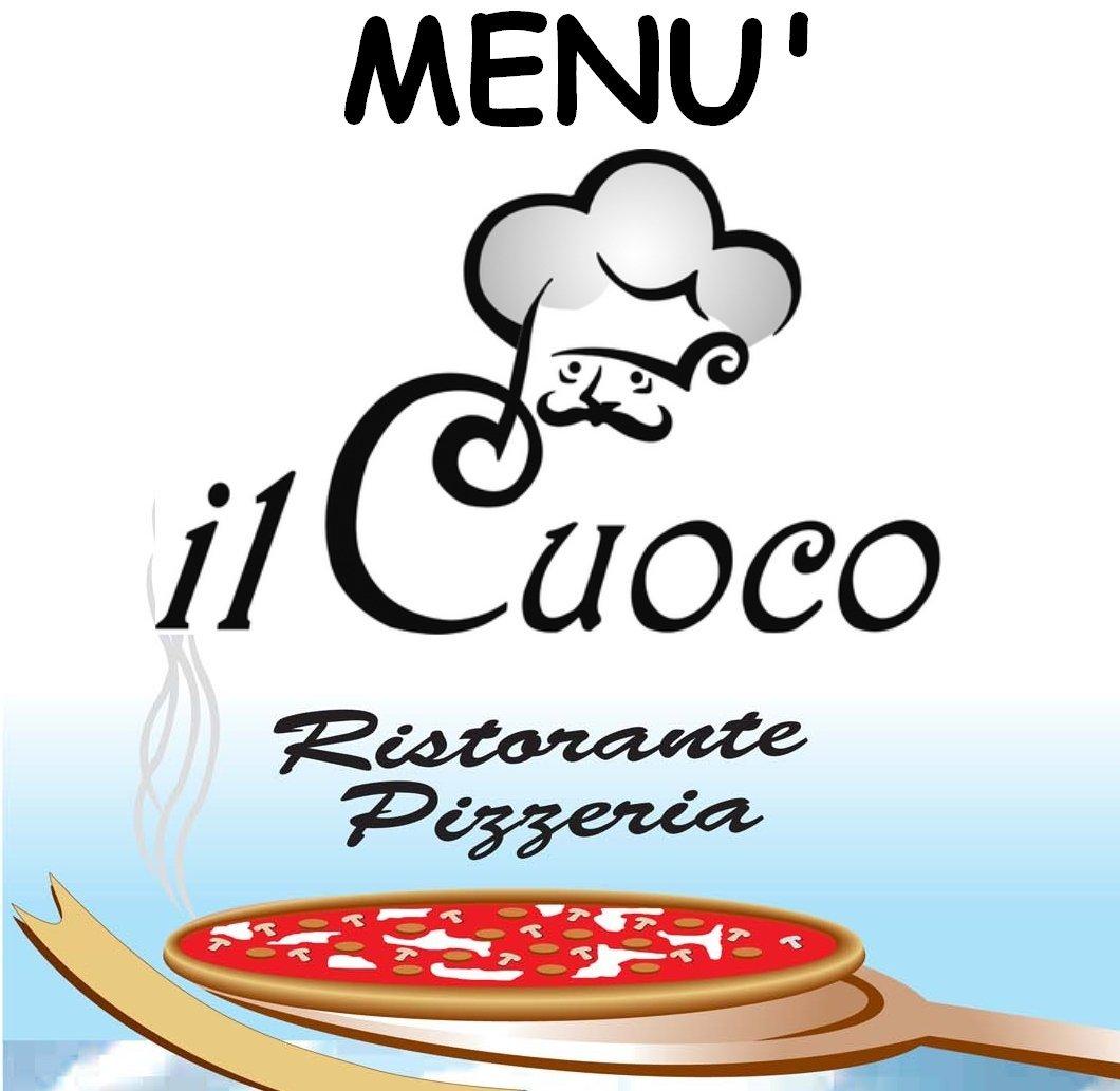 menù ristorante pizzeria il cuoco
