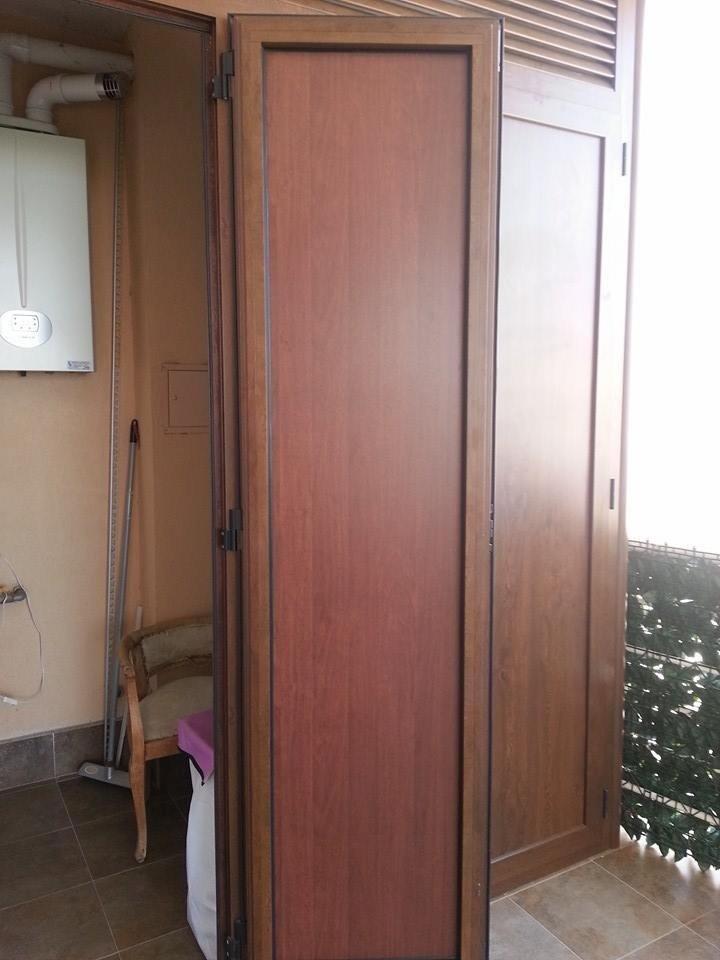 mobile da esterno effetto legno
