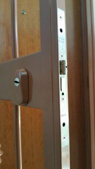 protezione con serratura a cilindro europeo defender