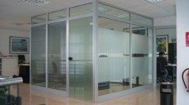 Divisori in vetro per uffici
