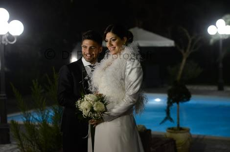 un uomo e sua sposa