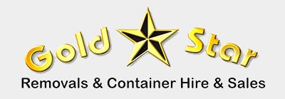 gold star removals business footer logo