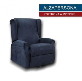 poltrona azzurra ALZAPERSONA