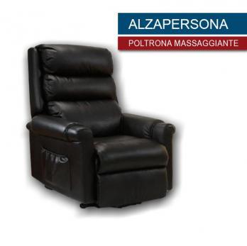 poltrona nera ALZAPERSONA