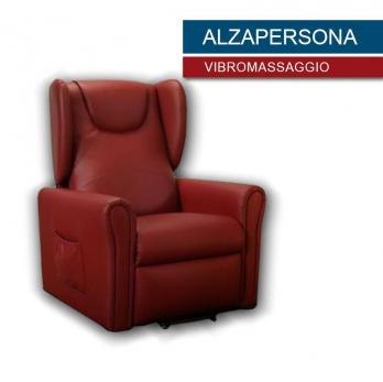 poltrona vibro massaggio ALZAPERSONA