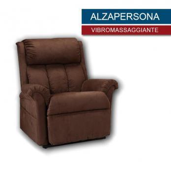 poltrona vibro massaggiiante ALZAPERSONA