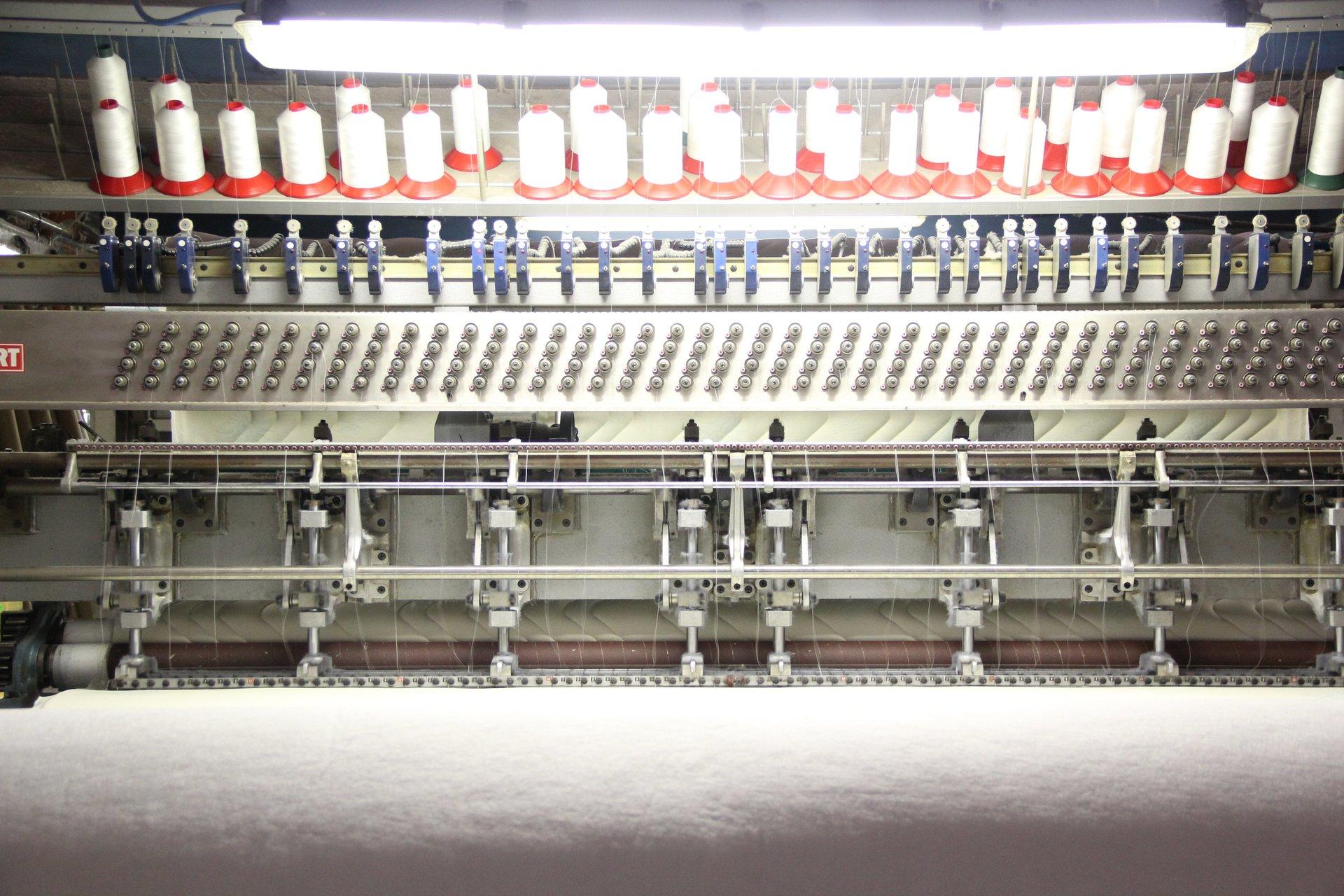 macchinari per produzione materassi novara