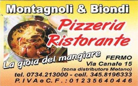 montagnoli e biondi ristorante pizzeria