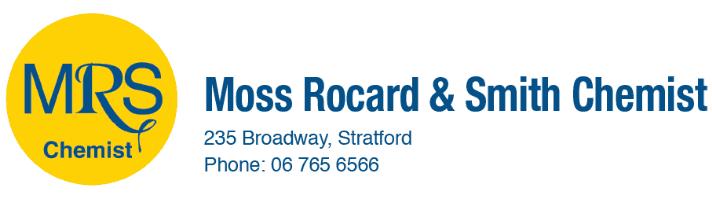 Moss, Rocard & Smith Chemists logo
