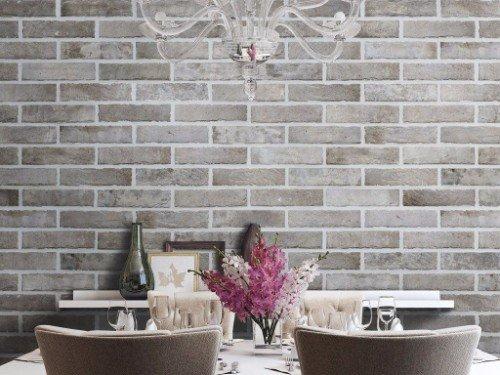 rivestimento parete in sala da pranzo