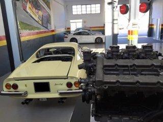 preparazione auto d'epoca