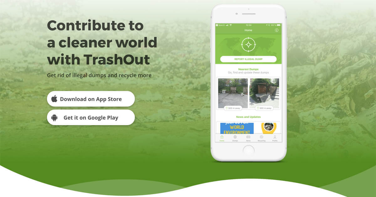 TrashOut: Locate and Get rid of Illegal Dumps