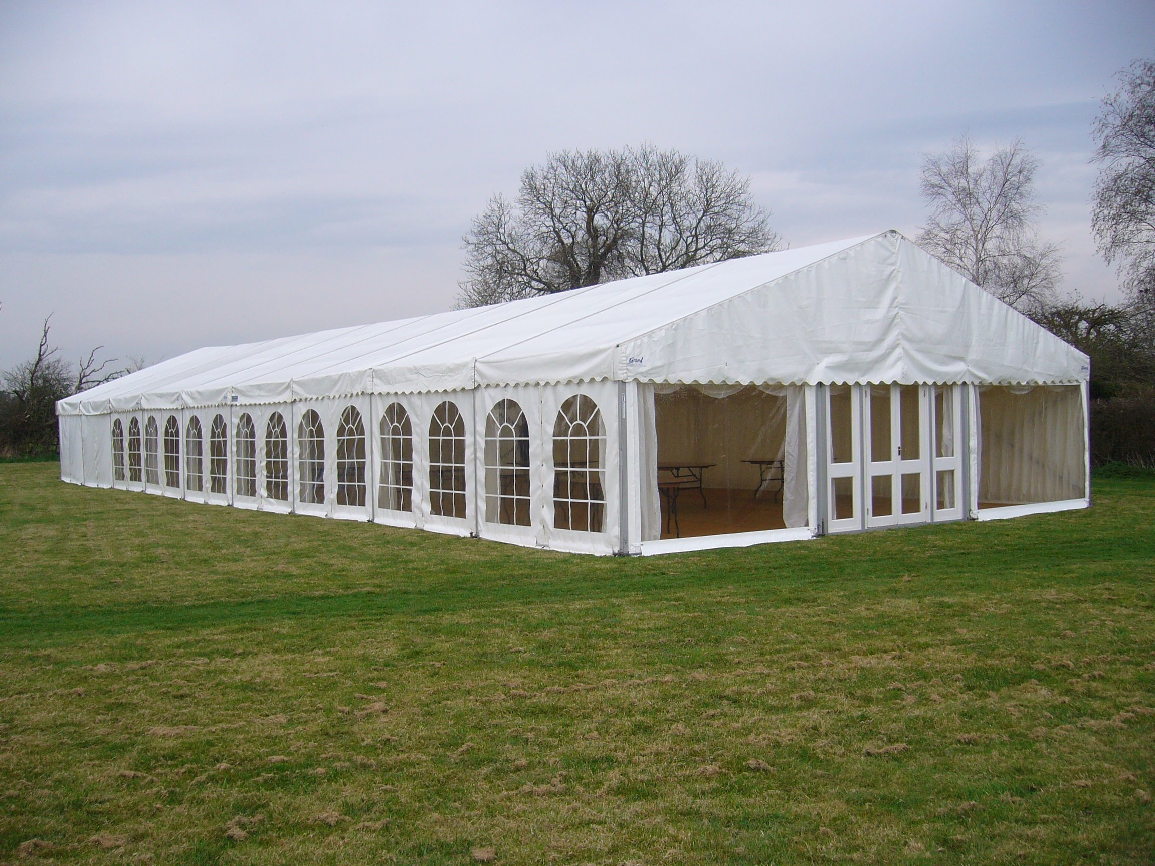 Marquee set-up