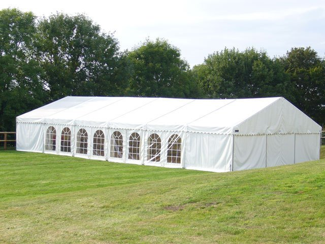 White marquees for weddings