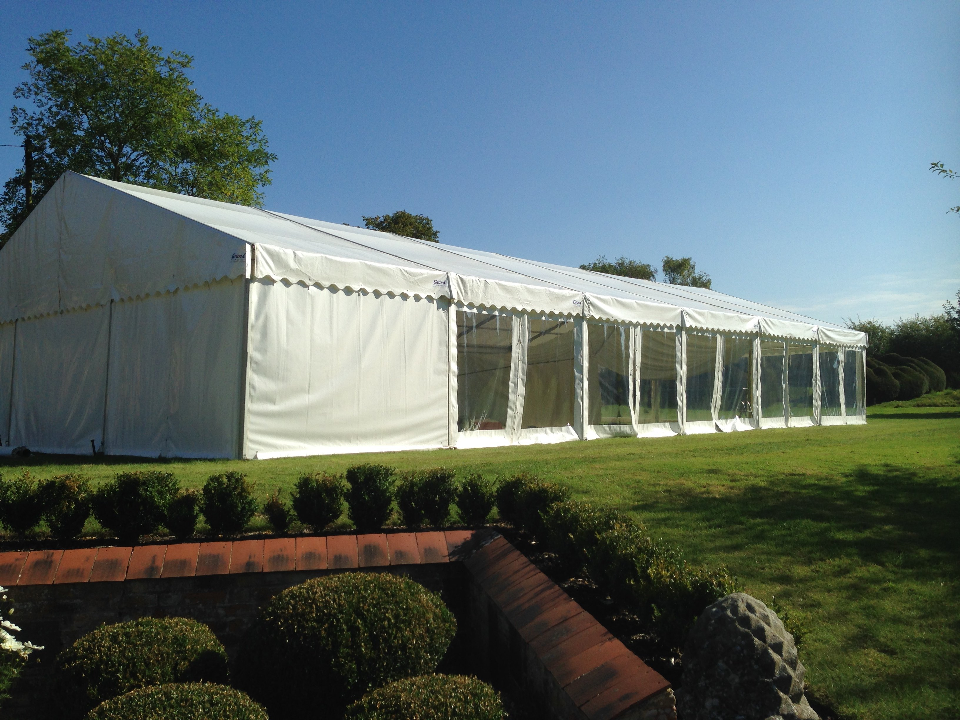 Durable marquees
