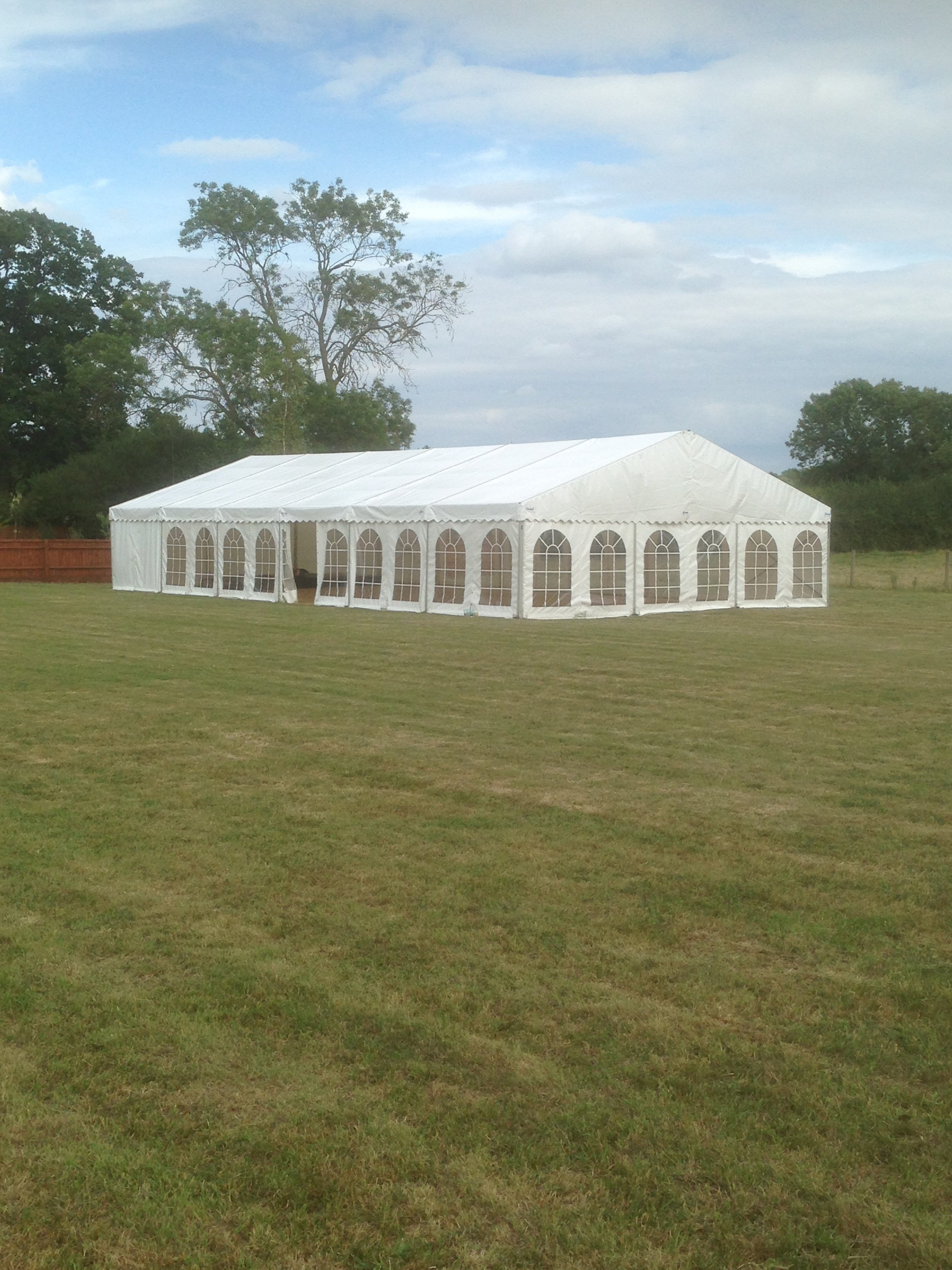 Wedding marquee for rent