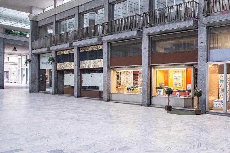 L'esterno del negozio