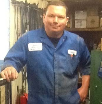 Big joe automobile technician at  Dean's Automotive Service Center in Anchorage