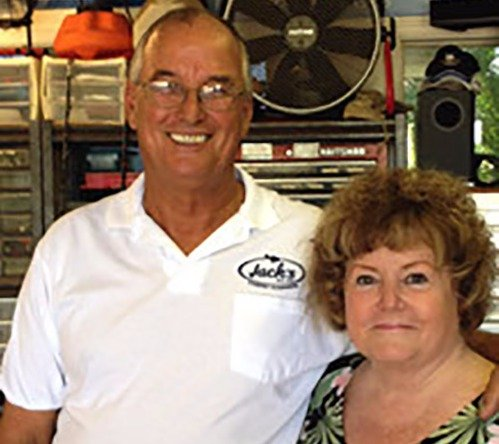 Jack and Carol at Jack's Carpet Cleaning in Haiku, HI