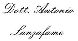 LANZAFAME DOTT. ANTONIO - LOGO