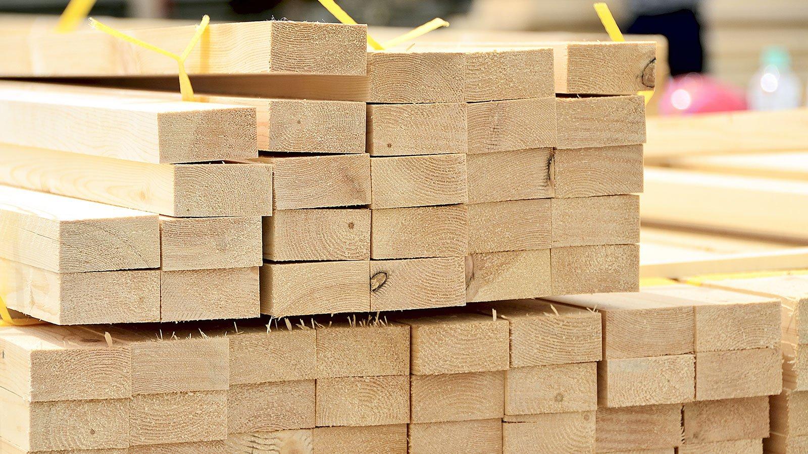 pila di legname