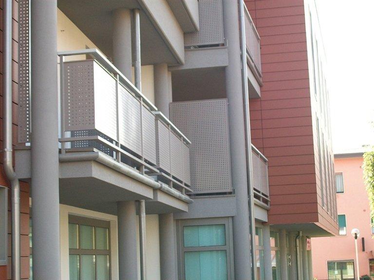 produzione ringhiere per balconi