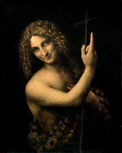 Johannes der Täufer n. Da Vinci