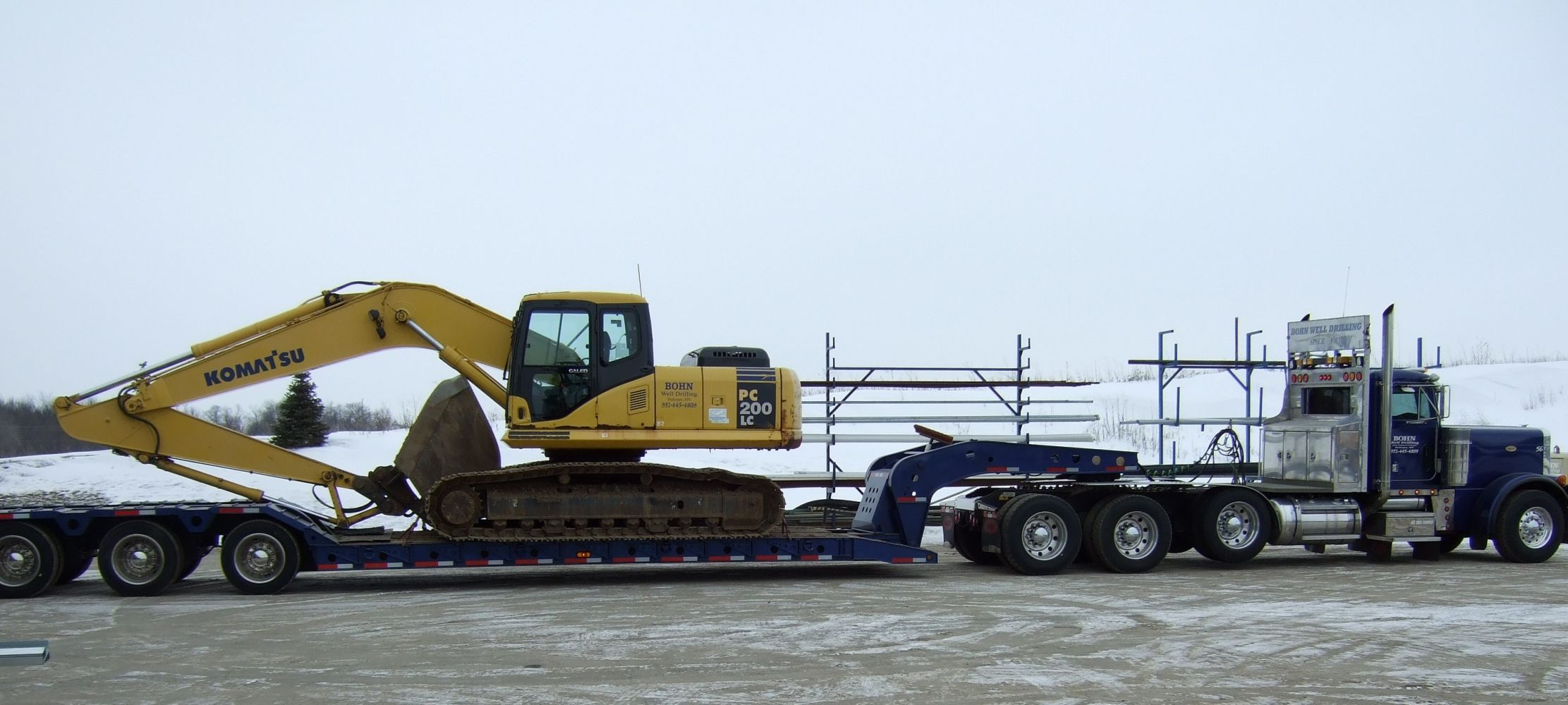 Excavating Equipment & Trucking