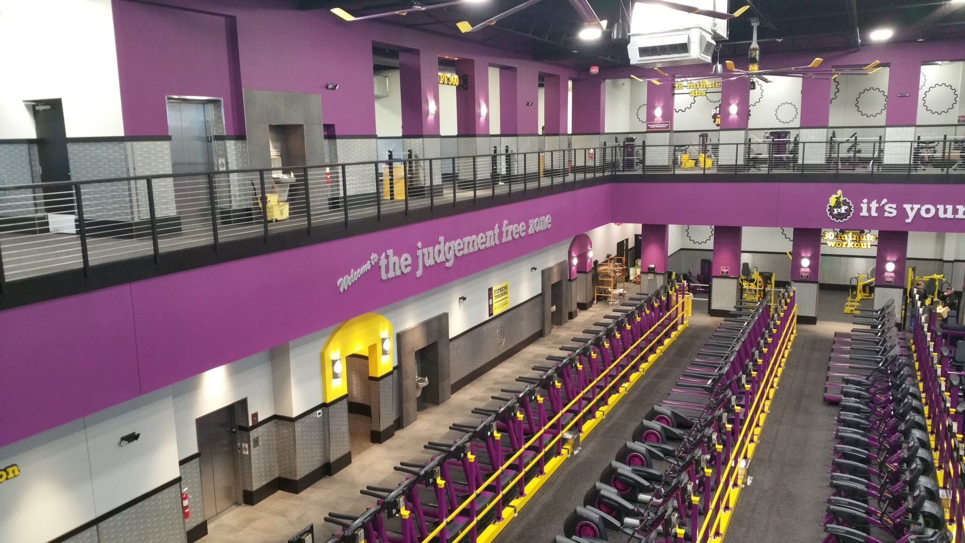 Planet Fitness - Welcome to the Judgment Free Zone