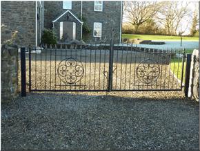 Ornamental gates and railings