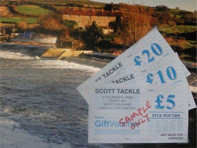 Landing net - Bristol - Somerset - Wiltshire - Scott Tackle - gift-vouchers