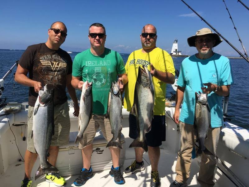 Fishing report august 14 for Fishing forecast for today