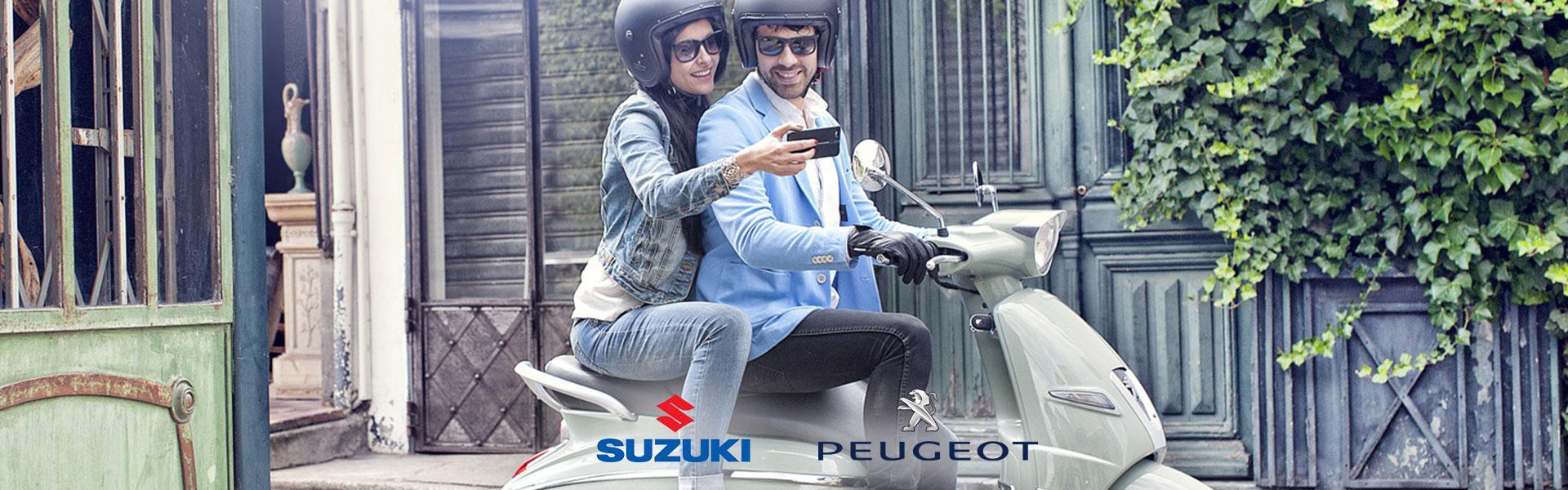 Vendita Scooter Peujeot e Suzuki