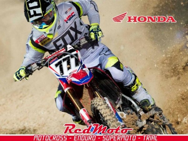 moto off-road red-moto - honda