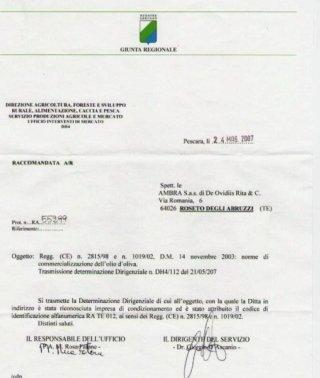 Ambra sas, Roseto Degli Abruzzi (TE), forniture alimentari
