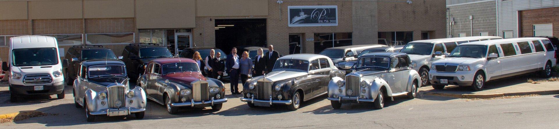 limousine pech fleet kc limo service line company