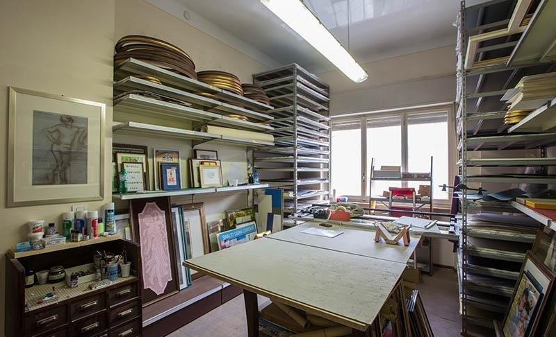 laboratorio cornici colorificio villa mario borgosesia