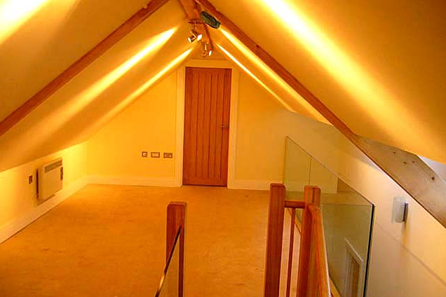 After conversion of a loft