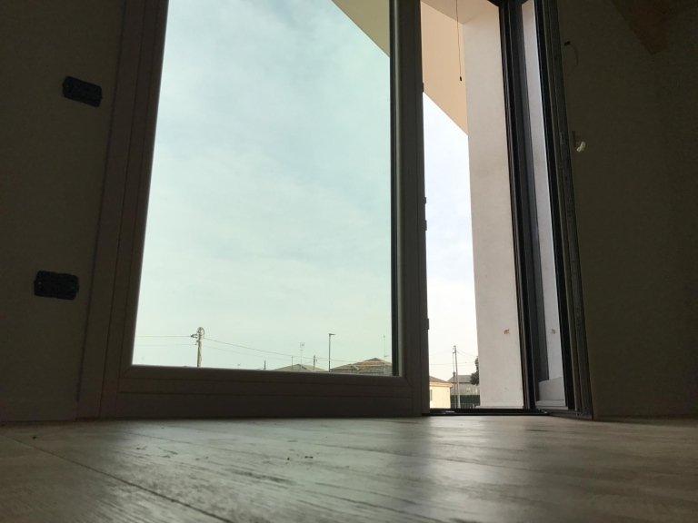 vetrata in legno alluminio
