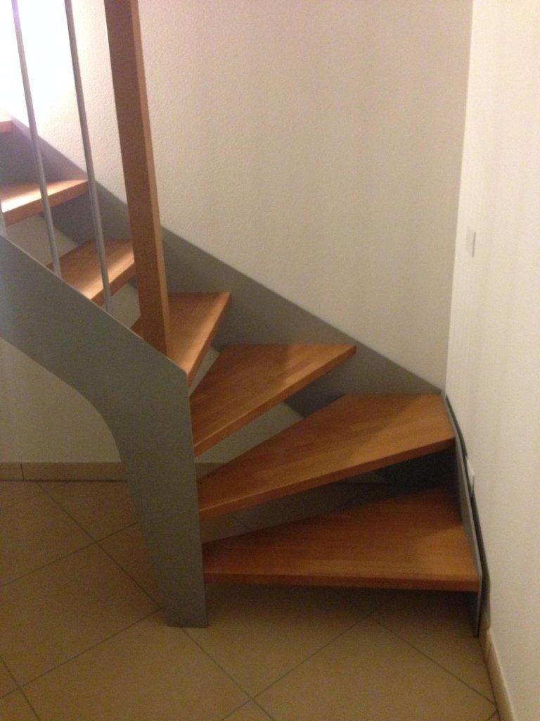 scala in ferro legno su misura
