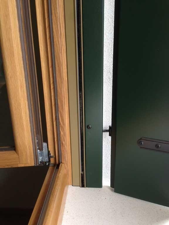 finestre in legno di rovere