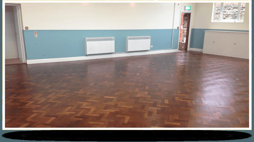 wooden floor refinishing