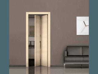 Porte per interni milano andreiflex for Porta a libro noce