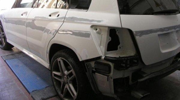 Auto accidentata