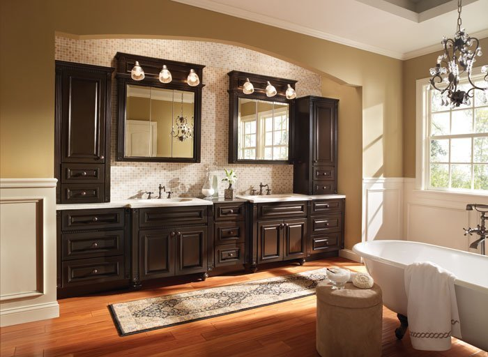 does your family need new bathroom cabinets?