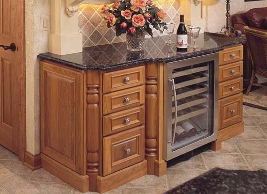 Wet Bar Cabinets Image
