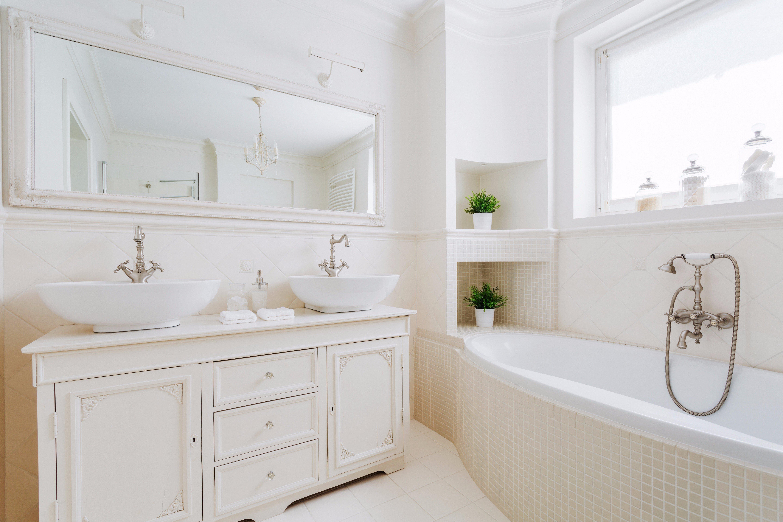 Bathroom Upgrades With Custom Cabinets in Davenport